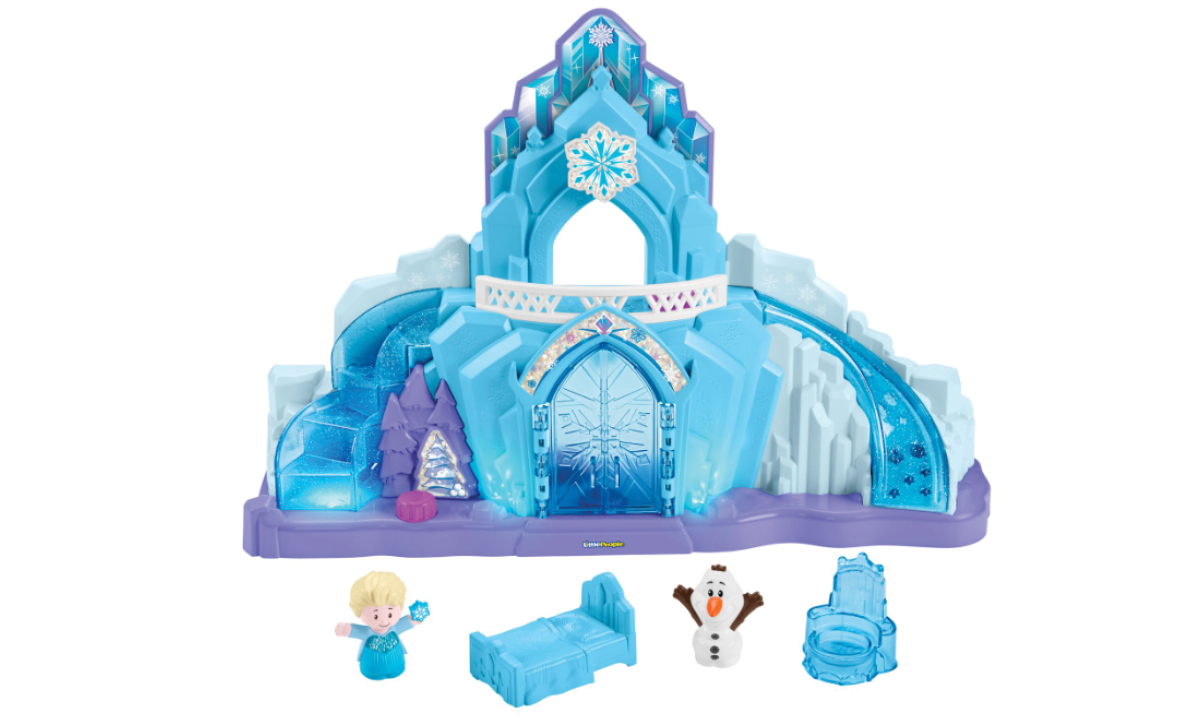 Win a Fisher-Price Little People Disney Frozen Elsa's Ice Palace