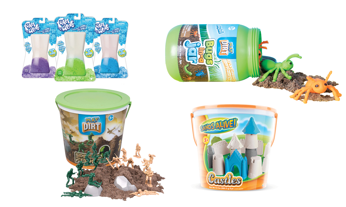 Win a Foam Alive Blister Pack, Play Dirt Bugs in a Jar, More