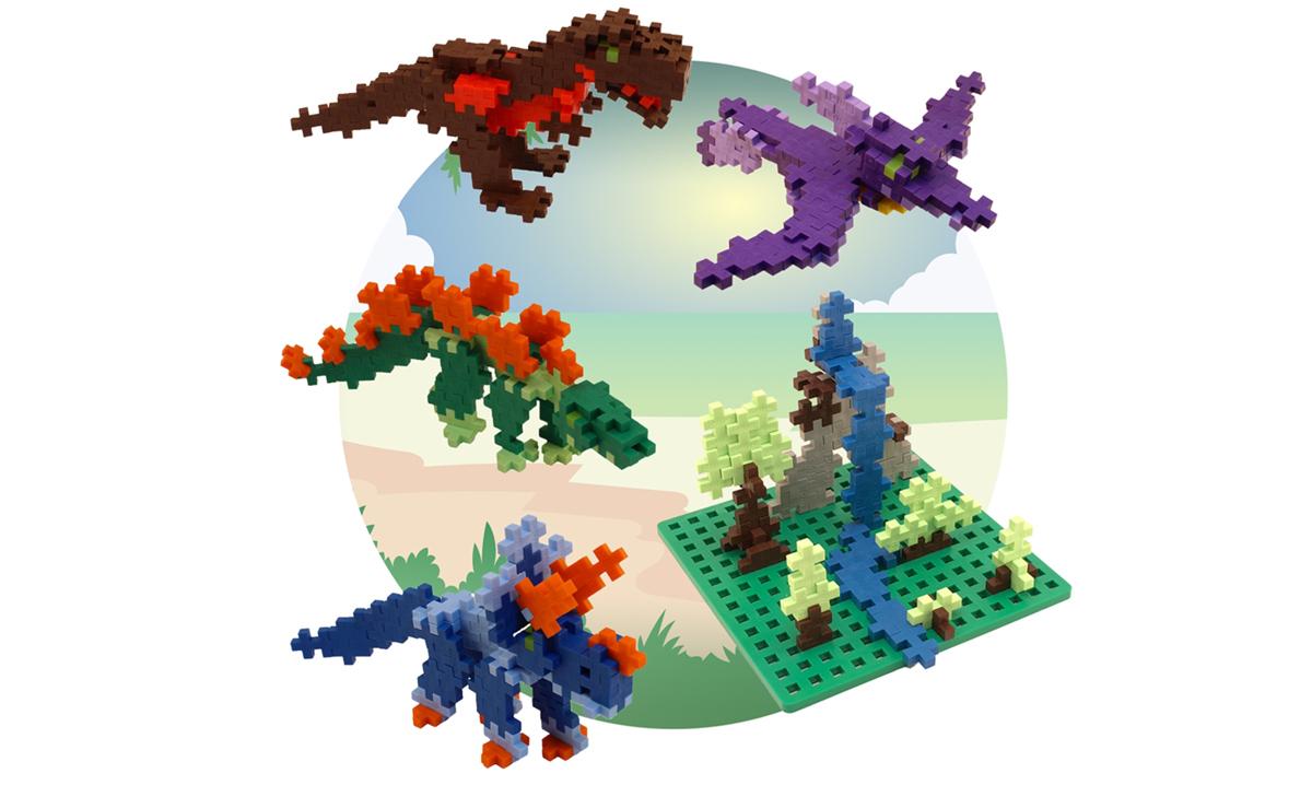 Win a Dinosaur Playset Bundle from Plus-Plus