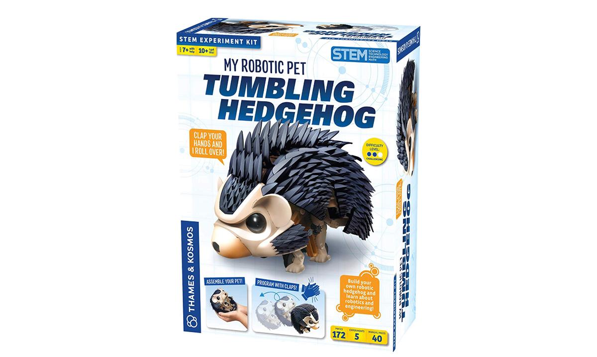 Win My Robotic Pet – Tumbling Hedgehog