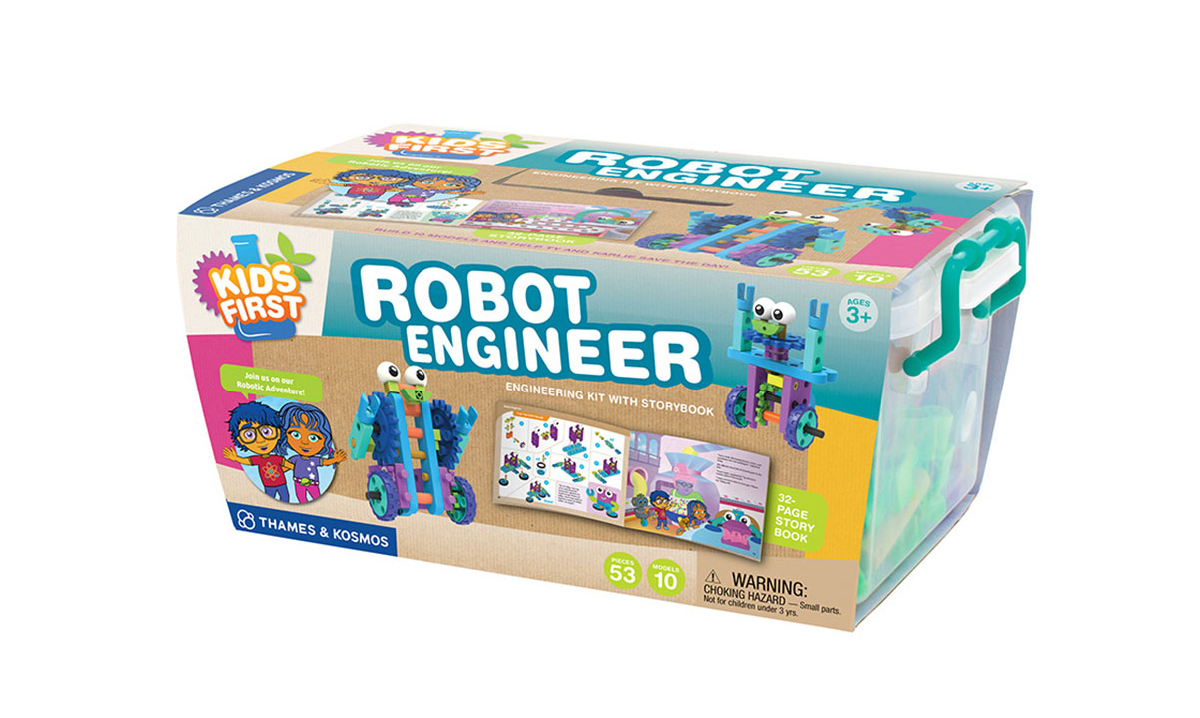 Win a Robot Engineer Kit From Kids First
