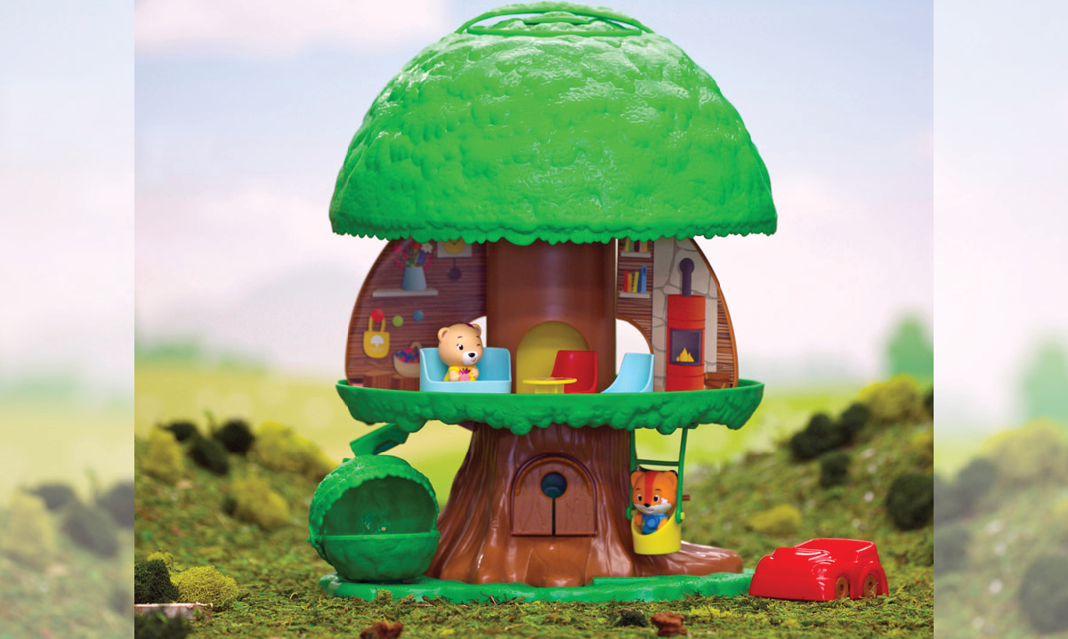 Win the Timber Tots Tree House From Fat Brain Toys
