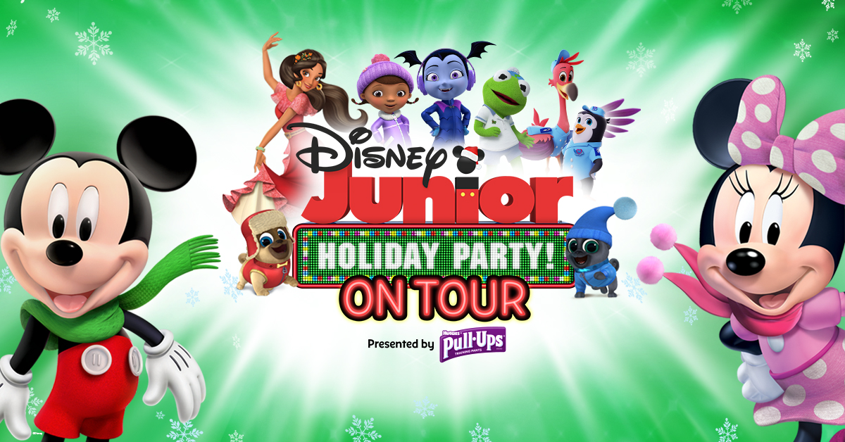 Win Tickets the Disney Junior Holiday Party! On Tour at the Fox Theatre