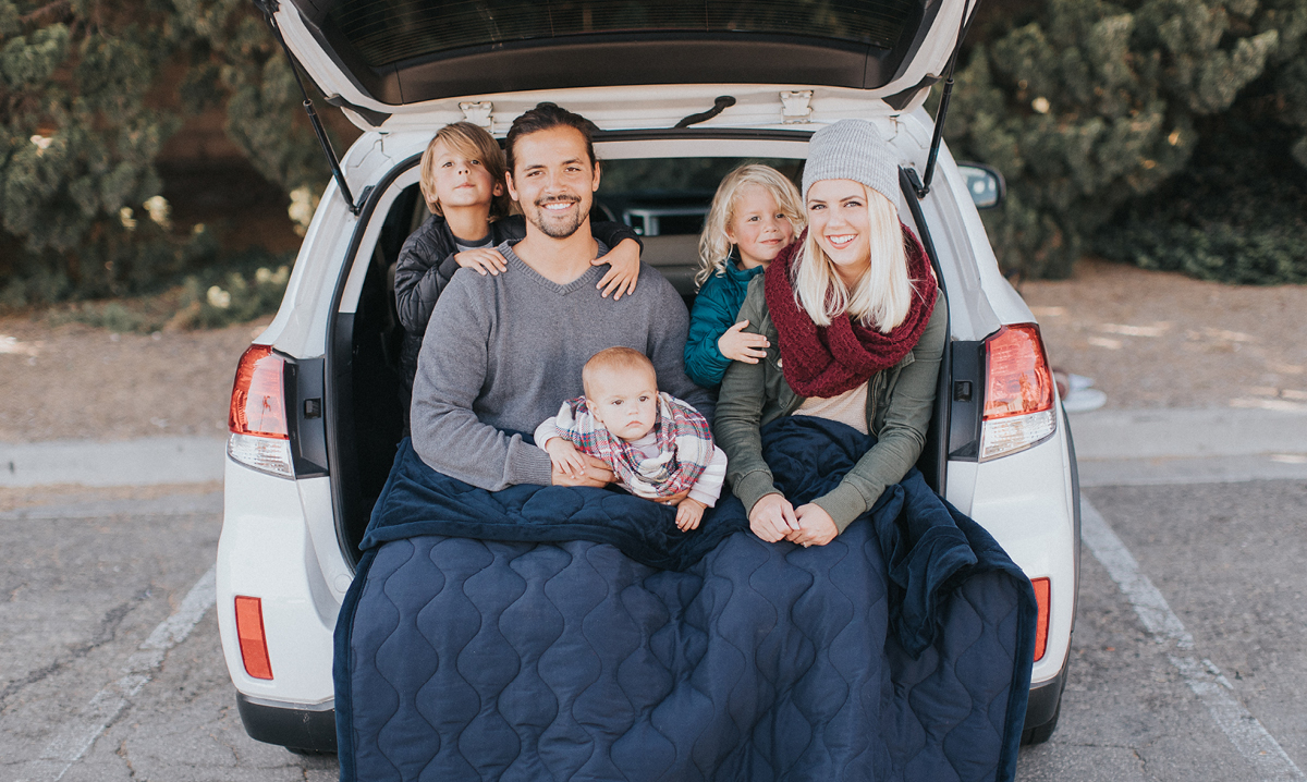 Win a Cozee Battery-Powered Heating Blanket by Life Giving Warmth