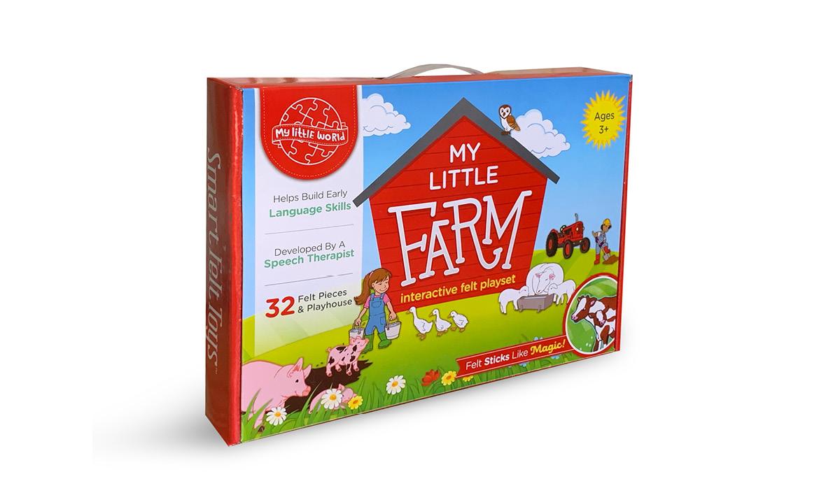 Win My Little Farm by SmartFelt Toys