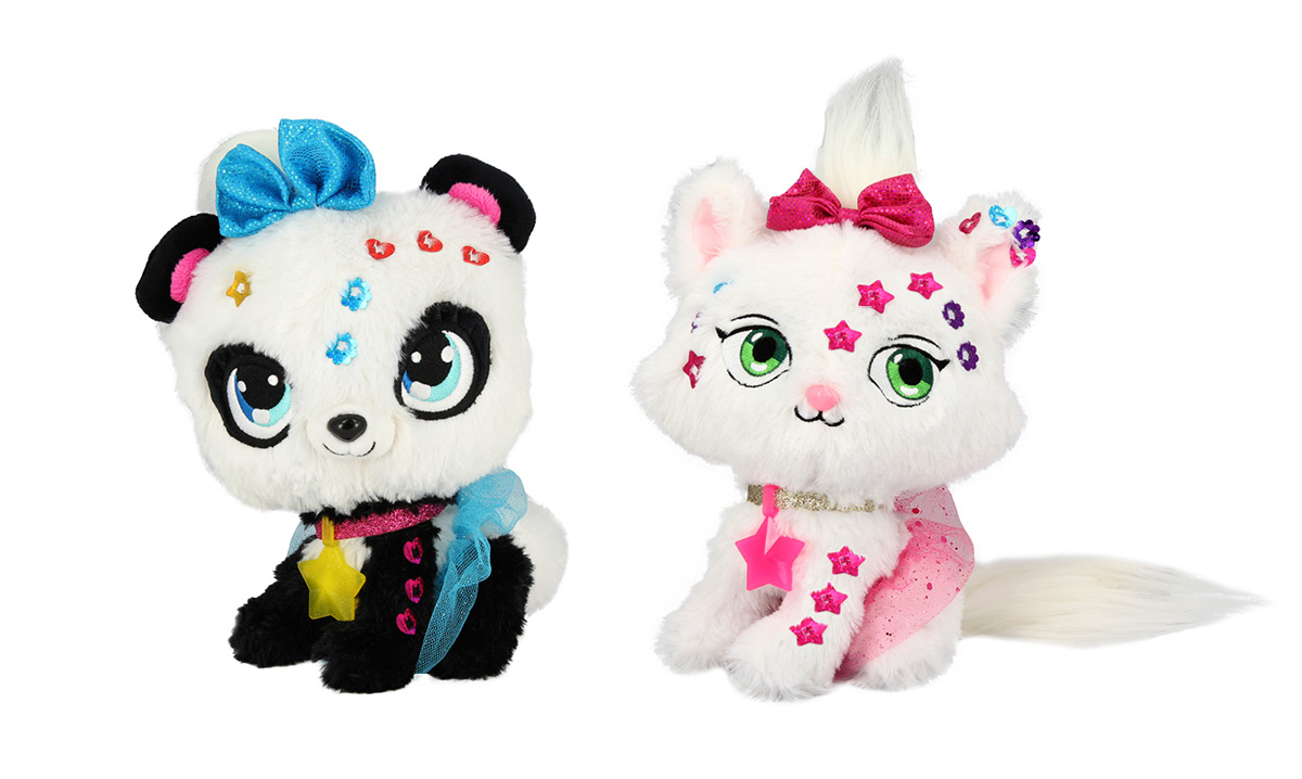 Win a Shimmer Stars Cat and Panda from KD Kids