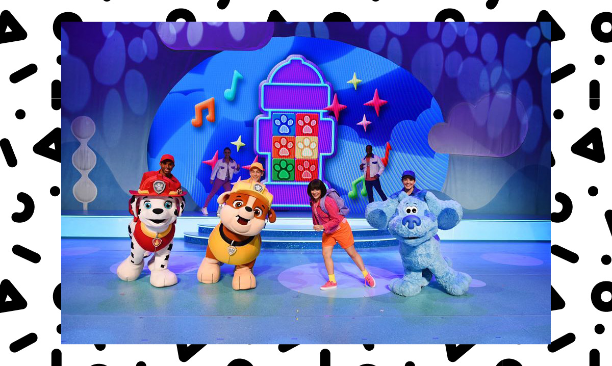 A performance of nick jr live move to the music