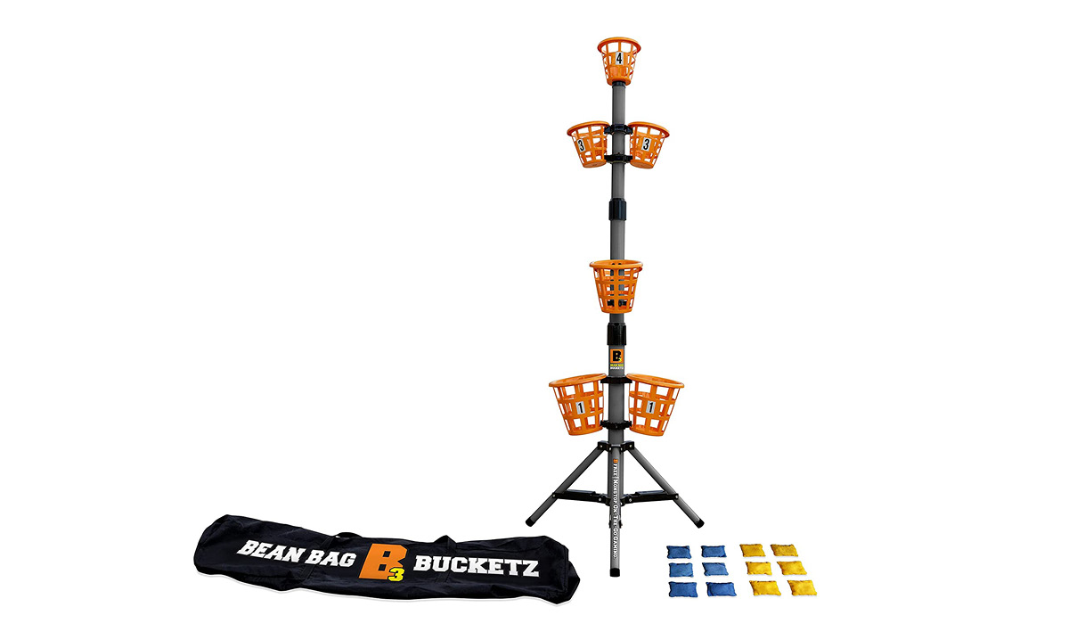 Win the Bean Bag Bucketz Game