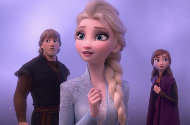 A scene from Disney's Frozen 2