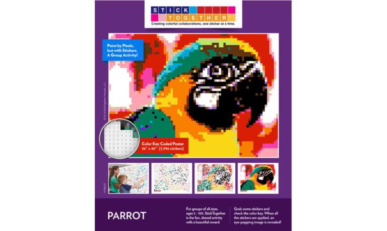 Win a StickTogether Parrot Mosaic Poster