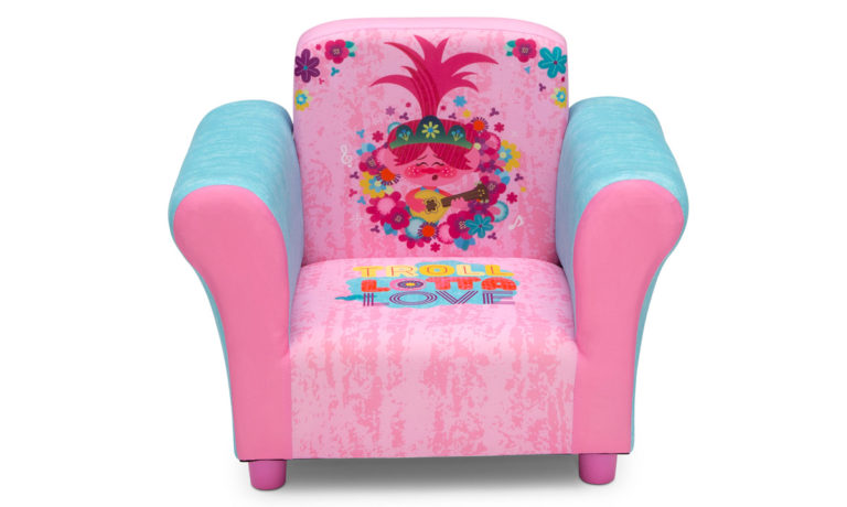 Win a Trolls Upholstered Chair by Delta Children