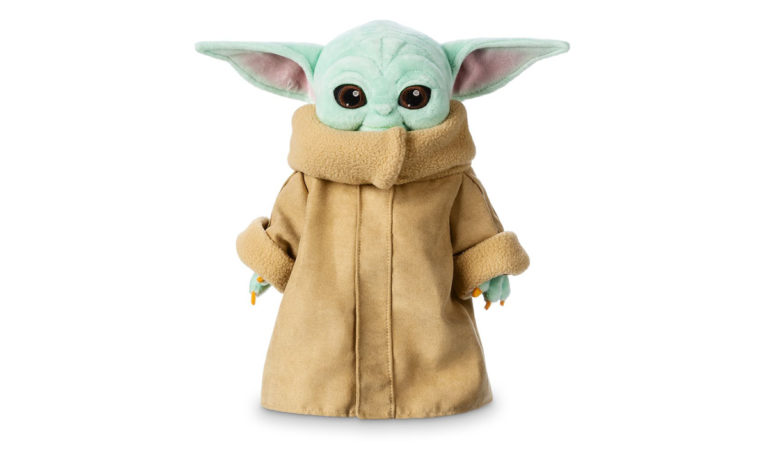 Win a Baby Yoda Plush Toy from the Disney Store