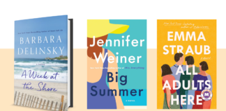The cover of three backyard beach reads