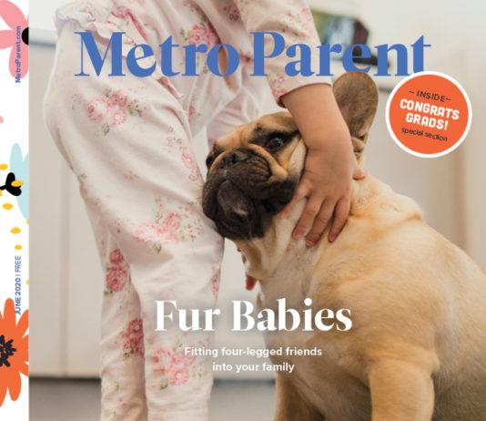 The June 2020 cover of Metro Parent