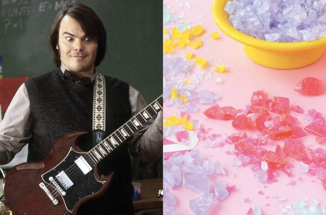 Image from school of rock and pop rocks