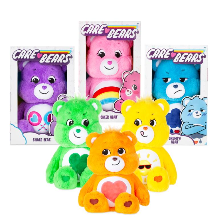 Win Three Medium Plush Care Bears