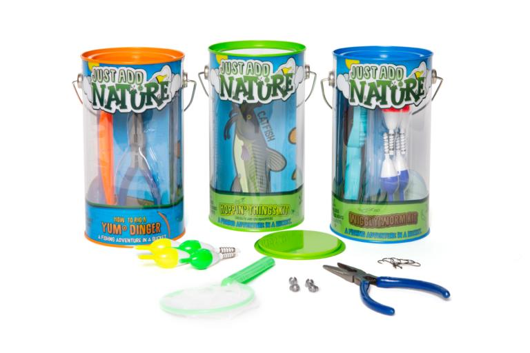 Win Three Just Add Nature Fishing Kits
