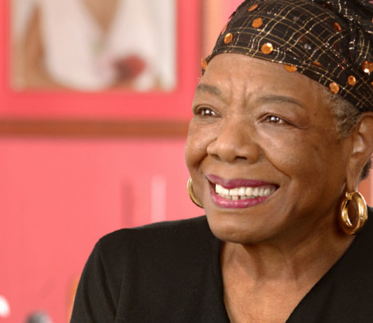 Image of Maya Angelou smiling