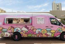 An image of the Hello Kitty Cafe truck