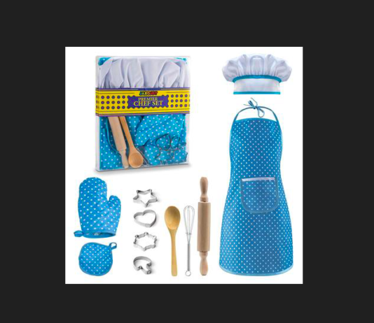 Image of the Litti City Chef kit on a black background