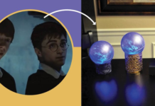 Arrow pointing from Harry Potter to a craft.
