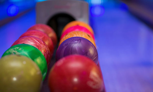 Cosmic bowling in metro Detroit and Ann Arbor