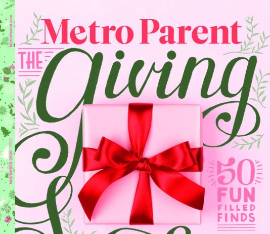 The cover of the November 2020 issue of Metro Parent