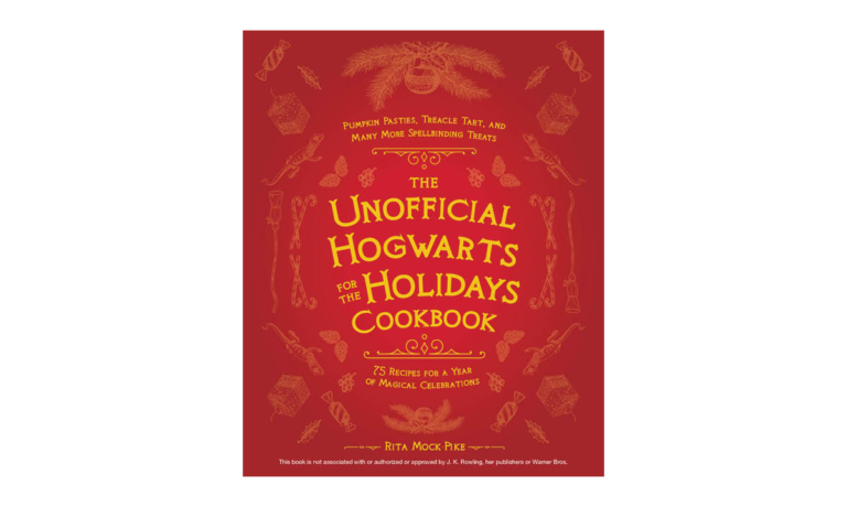 Win a Copy of The Unofficial Hogwarts for the Holidays Cookbook