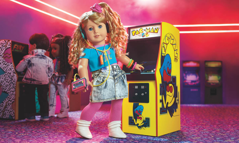 Win American Girl '80s Doll Courtney Moore