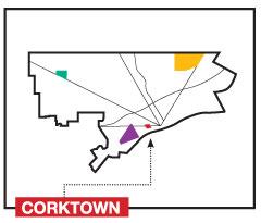 2 Map of Corktown in Detroit