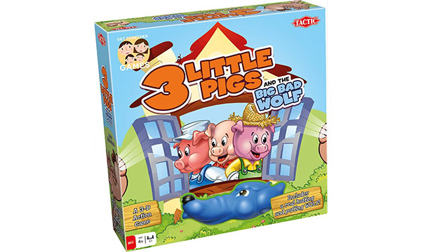 Win 3 Little Pigs and the Big Bad Wolf Game