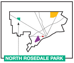 4 Map of North Rosedale Park Detroit