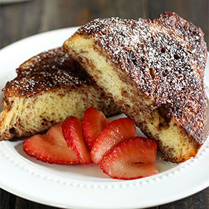 Chocolate French Toast Handle the Heat