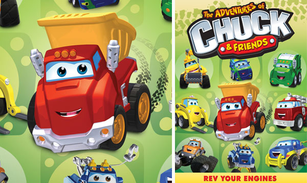 Win 'The Adventures of Chuck & Friends: Rev Your Engines' DVD