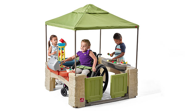Win the All Around Playtime Patio with Canopy