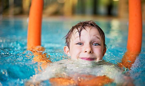 Year-round swim lessons