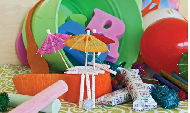 Budget-friendly birthday decor