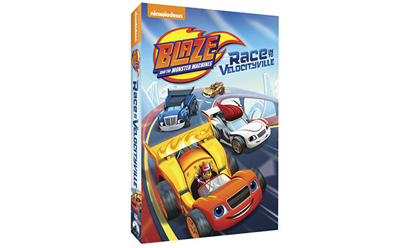 Win a 'Blaze and the Monster Machines' DVD