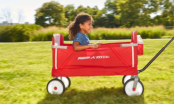 Win a three-in-one EZ Fold Wagon by Radio Flyer