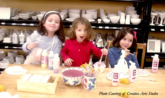 Make-and-Take Kids Party Places and Ideas