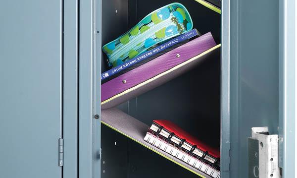 Win Floating Locker Shelves