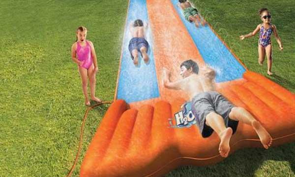 Win an H2OGO! Backyard Water Slide