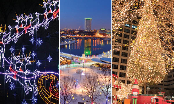 Holiday Lights in Michigan, Ohio and Missouri