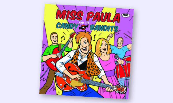 Miss Paula and The Candy Bandits' New Album Debuts