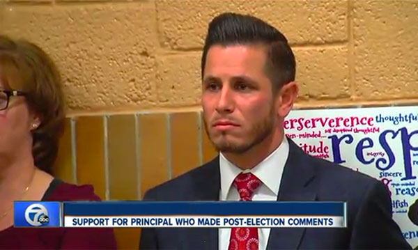 Parents Angry After Local Principal's Post-Election Unity Message