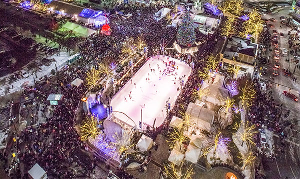 Win Passes to The Rink at Campus Martius Park in Detroit