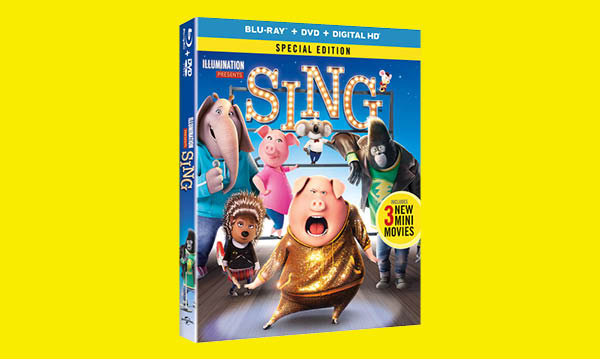 Win a Copy of the 'Sing' Special Edition DVD