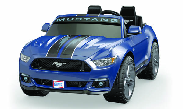 Win a Smart Drive Mustang