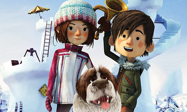 Win Snowtime! on Blu-ray and DVD