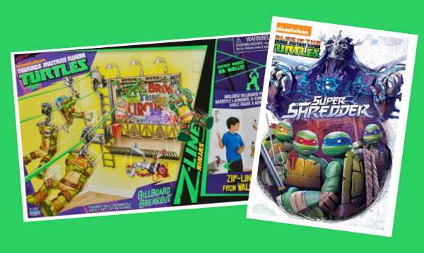 Win a Teenage Mutant Ninja Turtles DVD and Toy
